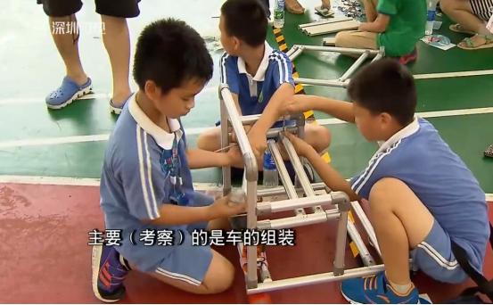福田区举行无人智能车比赛——精极铝合金线棒发挥优势